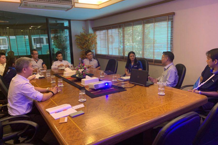 การประชุมร่วมระหว่าง SCB – AZTH