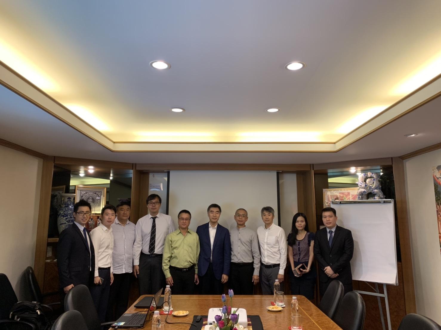 บริษัท Jiangtai Insurance Brokerage เข้าเยี่ยมชมบริษัทฯ